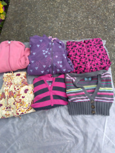 Girls size 8- 10 sweaters and hoodies