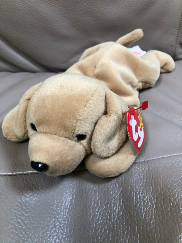 f970b2dc375 Ty Beanie Baby Fetch the Golden Retriever Dog - MWT