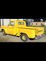 Looking for the yellow 1963 Chevy pickup that was for sale