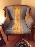 Authentic Italian Made Furniture Single Seater Chair
