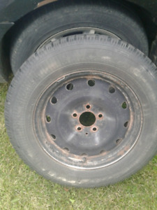 215/65/16 Goodyear Nordic Winter tires
