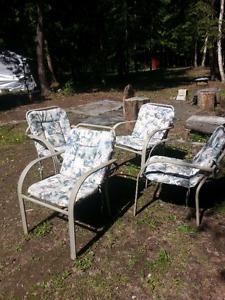 Chairs c/w pads