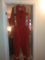Clean used F/R and regular coveralls