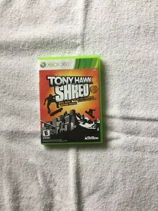 Toney Hawk Shred game for Xbox 360
