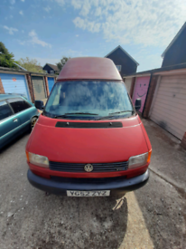 VW T4 tdi transporter campervan high top