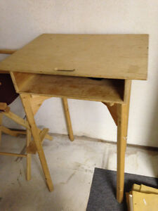 Desk Table and High Chair