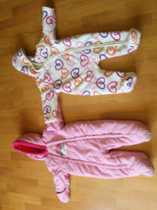 Baby/toddler snow suits