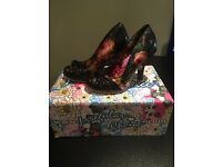 Irregular choice ladies shoes size 4 BRAND NEW IN BOX