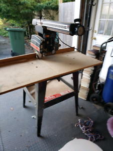 "10"" Craftsman Radial arm saw."
