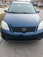 2007 Toyota Matrix N/A Hatchback....CERTIFIED and ETESTED