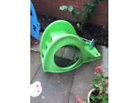 Kids slide and Wendy house