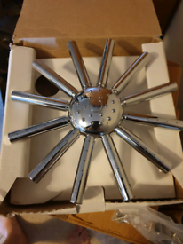 Bristan Star Shape Overhead Chrome Shower Head RRP. £49.95**BARGAIN**