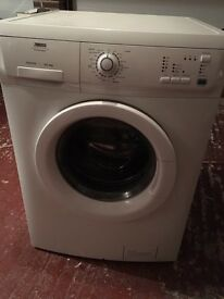 Zanussi White Washing Machine 6KG Load With 1200 Spin