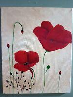 Creative Canvas - Poppies