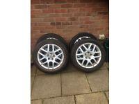 VW Golf GTI Alloy wheels and tyres