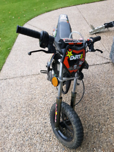 50cc dirt bike for sale! Must go!