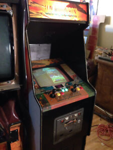 U.N Squadron Multicade 645 game Arcade Machine! CRT Jamma