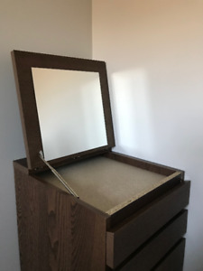 NEW 6-DRAWER CHEST with MIRROR