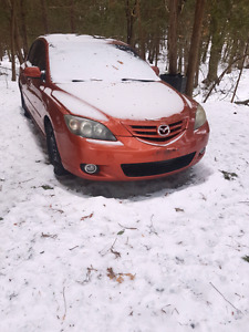 Part out mazda 3