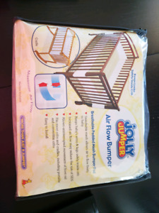 Brand new breathable crib bumpers