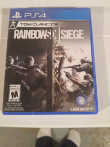 Ps4...Rainbow six seige $20