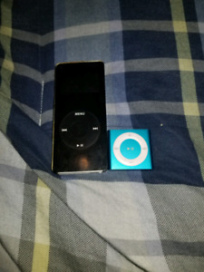 Ipod 1st gen and shuffle 20$
