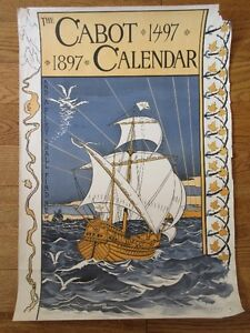 1497 400th anniversary of Cabot in 1897