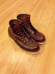 Red Wing Shoe Cleaning and Conditioning Service
