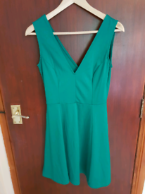 Green Dress H&M Size Small