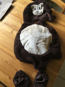MONKEY COSTUME SIZE 6-12 MONTHS