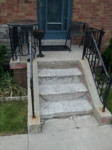 FRONT STEPS FALLING APART?  There's An App Fix For That . . .