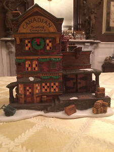 Dept 56 Dickens Village - Canadian Trading Co. London Ontario image 1