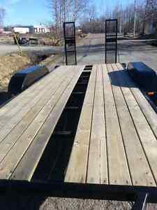 19' flat deck