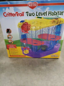 Hamster cage, Critter Trail Two Level Habitat