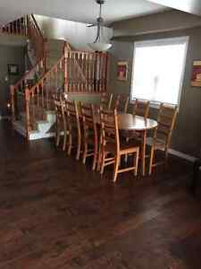 Ikea dining room set - 8 chairs and 2 tables