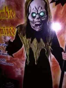 Light up zombie  costume