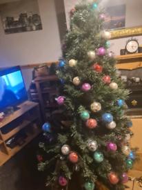 5ft prelit Christmas tree