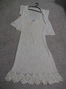 Crocheted 2 Piece Dress