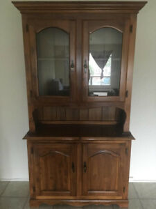 Wooden China Cabinet for Sale