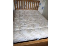 Bed with free mattress