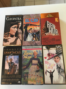 Classic VHS Movies