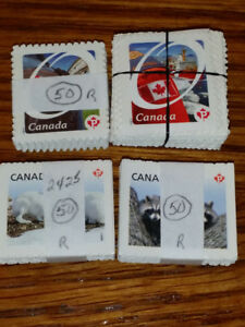 UNUSED CANADIAN PERMANENT STAMPS