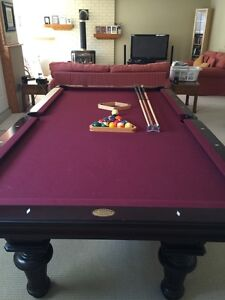 Olhausen 30th Anniversary Pool Table