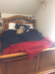 Need gone- Bed set
