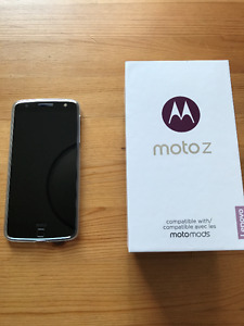 Selling my mint condition one week old Moto Z on bell network