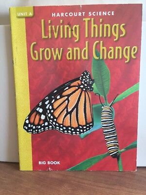 Living Things Grow & Change Harcourt Science Paperback Harcourt Inc.