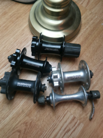 job lot shimano wheel hubs used condition