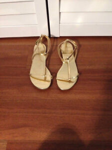 Gold Sandals for Sale