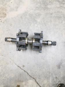Proclimb drive shafts