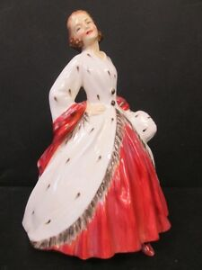 Older Royal Doulton Figurine - The Ermine Coat - HN1981 England